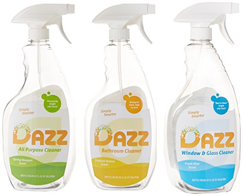 DAZZ Cleaning Tablets Whole House Starter (House Cleaning Starter Kit)