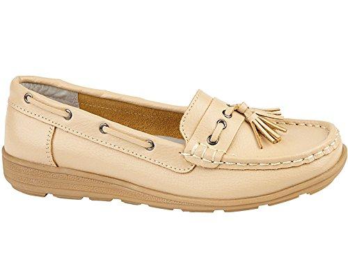 Foster Footwear Mocasines de Material Sintético Para Hombre, Color Negro, Talla 44