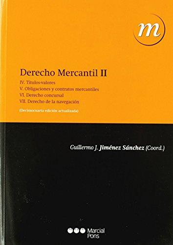DERECHO MERCANTIL 2 (14ªED 2010)
