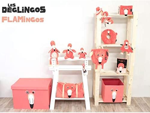 Flamingos Deglingos Storage Box Large