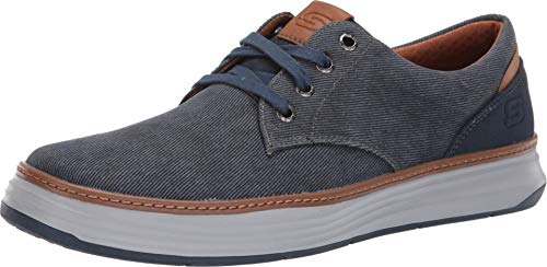 Skechers Men's Moreno Canvas Oxford Shoe