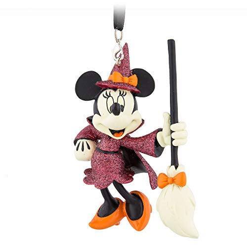 Disney Parks Minnie Mouse Halloween Witch Ornament