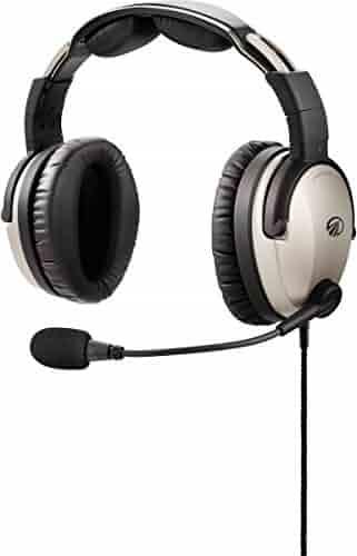 Lightspeed Zulu 3 Aviation Headset - GA plugs