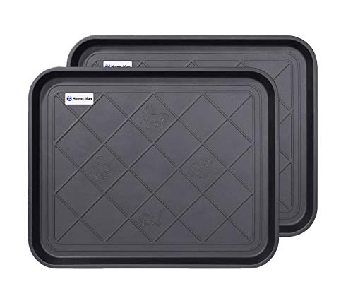 Home-Man Multi-Purpose Boot Tray Mat,Boot Tray for Entryway, Pet Bowl Tray,Dog Bowl Mat,Waterproof Trays for Indoor and Outdoor Floor Protection,20