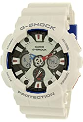 G-Shock GA-120TR - Tri Color Series Watches - White / One Size
