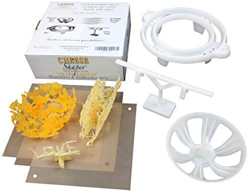 "Cheese Shaper – ""Shape Cheese"" Unique Microwave Kitchen Tool Set to Make Artistic 5-Star Meals in Minutes by Crafted Ingenuity"