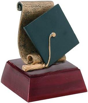 Trophy Crunch Buffalo Mascot School Award - Free Custom Engraving