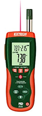 Extech Psychrometer with Infrared Thermometer