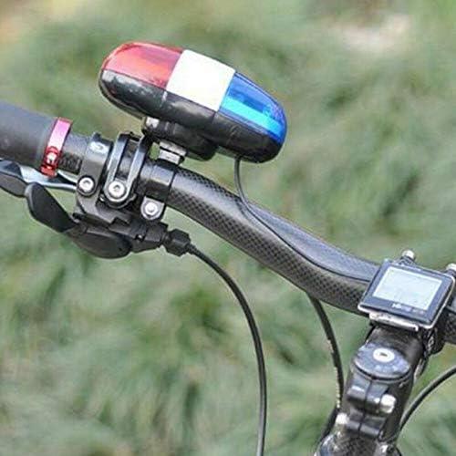 LACKINGONE - Timbre para Bicicleta (4 Sonidos, 6 Luces traseras ...