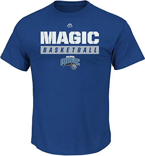 VF LSG NBA Orlando Magic Men's Proven Pastime Short Sleeve Crew Neck Tee, Small, Deep - Magic Orlando T-shirt
