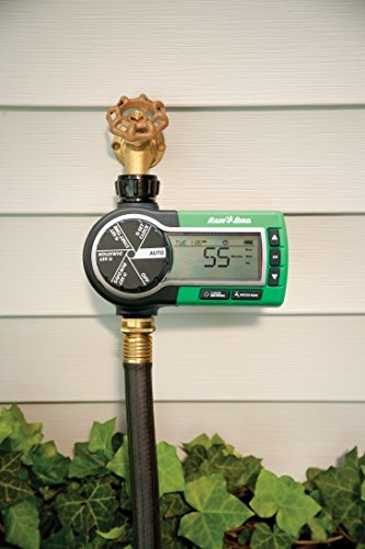 Rain Bird 1ZEHTMR Professional Grade Electronic Hose End Timer/Controller, One Zone/Station, Battery Operated