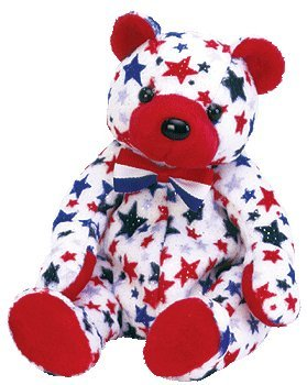 4e69cd53db1 Image Unavailable. Image not available for. Color  Ty Beanie Babies - Red  the Bear (USA Exclusive)