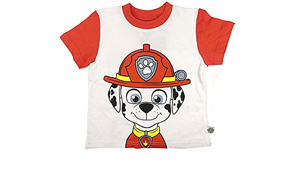 Paw Patrol Marshall Chase Sweatshirt T-Shirt langarm Kinder Fasching Fastnacht