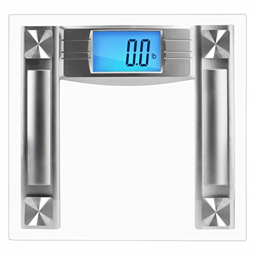 SlimSmart Modern Bathroom Scale with Large Digital Display & Automatic...