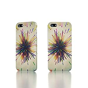 Apple iPhone 4 / 4S Case - The Best 3D Full Wrap iPhone Case - Color Explosion 3D