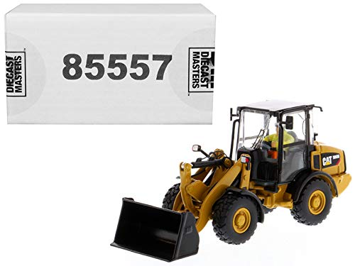 (Diecast Masters CAT Caterpillar 906M Compact Wheel Loader with Operator High Line Series 1/50 Diecast Model)