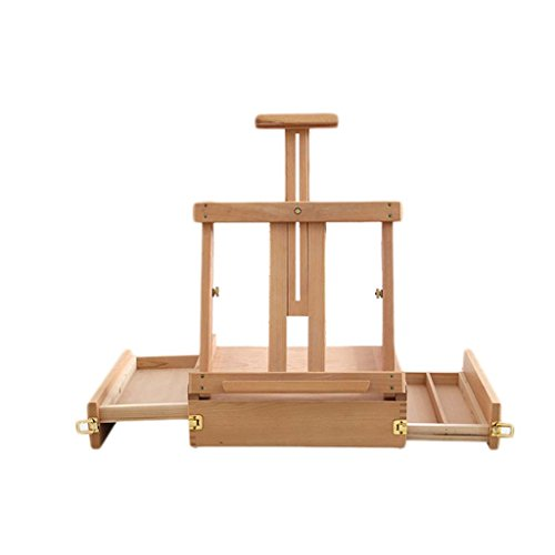 Easels Professional Wooden Art Display Canvas Painting 62/85Cm Tall Adjustable Wood For Adults - Easy To Assemble - Fits Small And Large Canvases Exhibition,Size2 ()