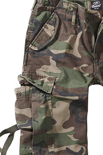 11001 Femme Pantalon Ladies B M65 Cargo Trouser Woodland Brandit w5q0AUOA