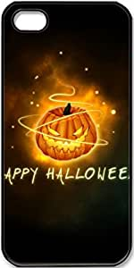 iPhone 5/5s Case Happy-Halloween Case for iPhone 5/5s with Black Side