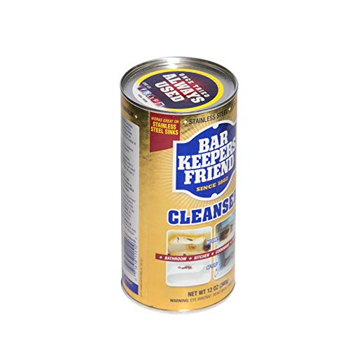 Bar Keepers Friend Powdered Cleanser Amp Polish 12 Ounces 1