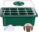 MIXC 10 Packs Seed Starter Tray Seed Starter Kit