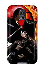 Ryan Knowlton Johnson's Shop New Style 7562105K25779623 High-quality Durable Protection Case For Galaxy S5(death Note)