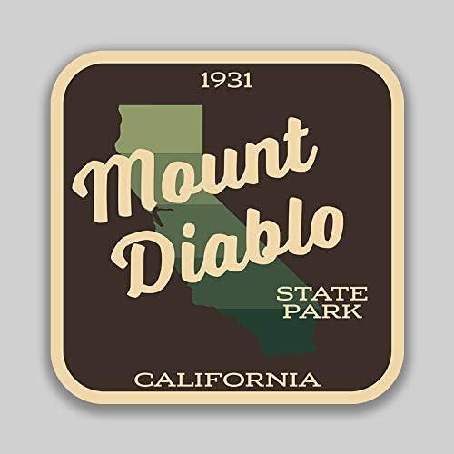 CALIFORNIA  DECAL BUMPER STICKER  4 INCHES