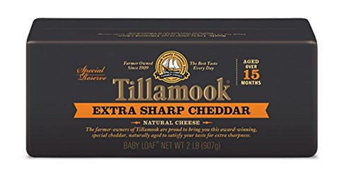 Tillamook Cheese 2lb Baby Loaf (Choose Flavor Below) (Extra Sharp Cheddar) (Extra Sharp Cheese compare prices)