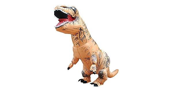 Wawer Dinosaur Disfraz Disfraz Adult T-Rex Hinchable ...