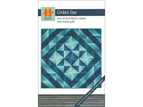 Hunter's Design Studio Ombre Star Pattern Arts and Crafts Supply -