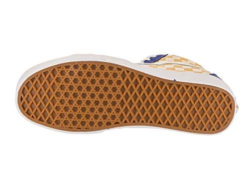 Pictures of Vans Unisex Sk8-Hi BMX Skate Shoe True Blue/Yellow 3