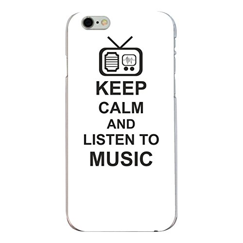 "Disagu Design Case Coque pour Apple iPhone 6s Housse etui coque pochette ""KEEP CALM AND LISTEN TO MUSIC"""