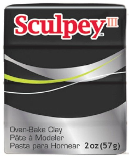 Polyform Sculpey III Polymer Clay, 2-Ounce, (Mixed Clay)