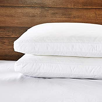 Amazon Com Puredown Natural Goose Down Feather Pillows