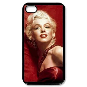 iPhone 4,4S Cell Phone Case Black Marilyn Monroe AFK349999