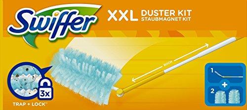Staubmagnet Start XXL Swiffer Stiel 90cm m. 2 Tü.
