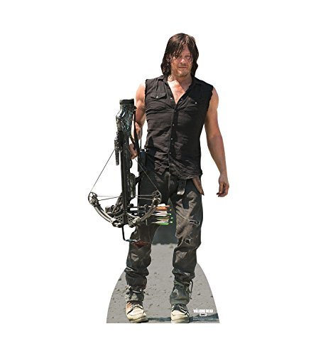 THE WALKING DEAD DARYL DIXON NORMAN REEDUS LIFESIZE CARDBOARD STANDUP STANDEE CUTOUT POSTER FIGURE