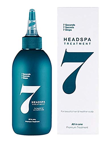 (Head Spa 7 treatment 200ml (6.76 fl oz) After shampooing Hair-drop Scalp Hair-loss Hair thinning Growth Natural extracts )