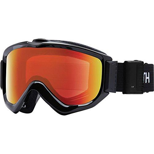 Smith Optics Knowledge Turbo Fan Goggle - Black Frame/ChromaPop Everyday Red Mirror