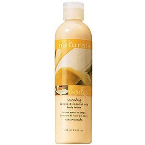 Avon Naturals Banana and Coconut Milk Body Lotion 8.4oz.