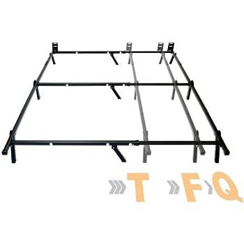 Amazon Com Mainstays Adjustable Metal Bed Frame
