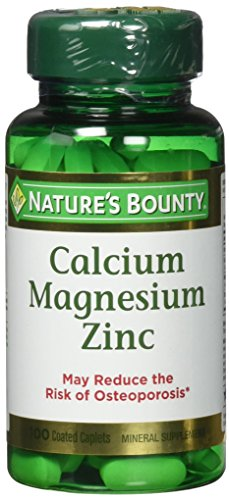 Nature's Bounty Calcium-magnesium-zinc Caplets, 300 Caplets (3 X 100 Count Bottles) Review