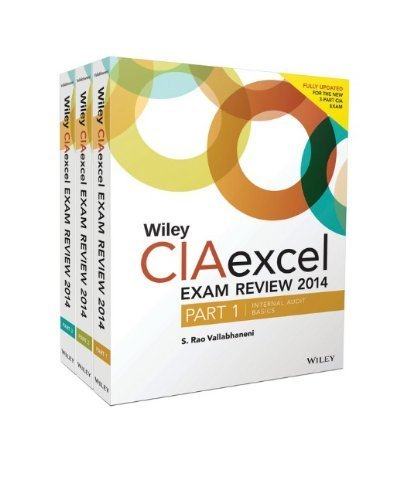 Wiley CIAexcel Exam Review 2014: Part 3, Internal Audit Knowledge Elements (Wiley CIA Exam Review Series) by S. Rao Vallabhaneni (2014-06-09)