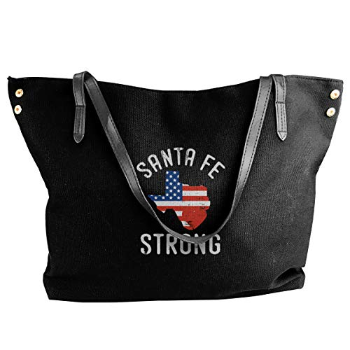 (Women Tote Bags Santa Fe Strong Canvas Shoulder Handbags)