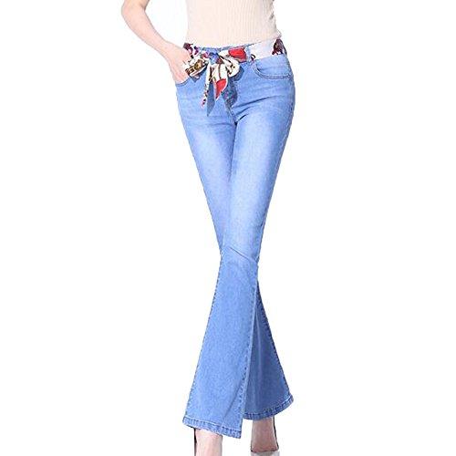 Blue2 Jeans Da Super Attillati Moda Aderenti Donna Alla 1qS0Ep1x