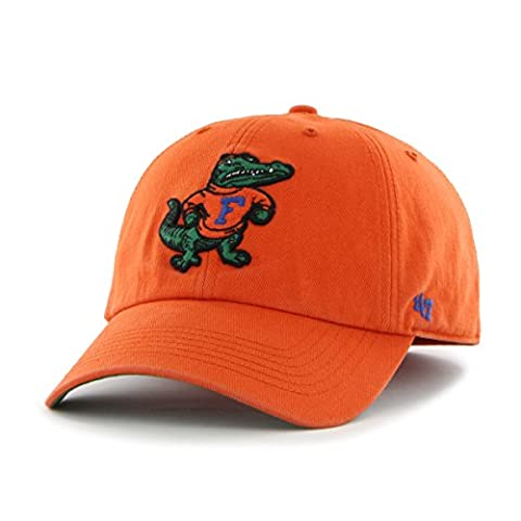 NCAA Florida Gators '47 Brand Franchise Fitted Hat, Orange, Small - Florida Gators Baseball Cap