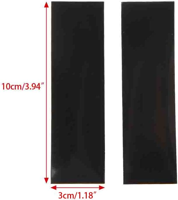 CUCUDAI DIY 0.6mm Thickness Replacement 100x30mm Mouse Feet Mouse Skates