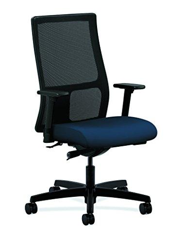 "HON Task Chair Mesh Back 27""x38""x46-1/2"" Centurion Navy IW10"