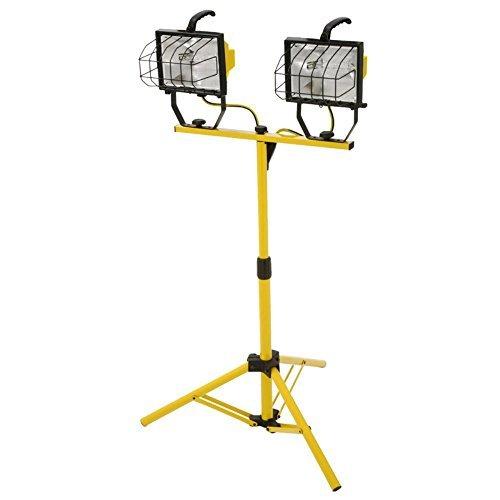 Designers Edge L13 1000-Watt Telescope Worklight, Yellow, 120-Volt by Designers Edge