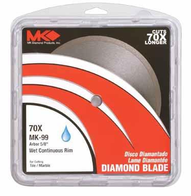 Felker Continuous Rim Diamond Blade - 1